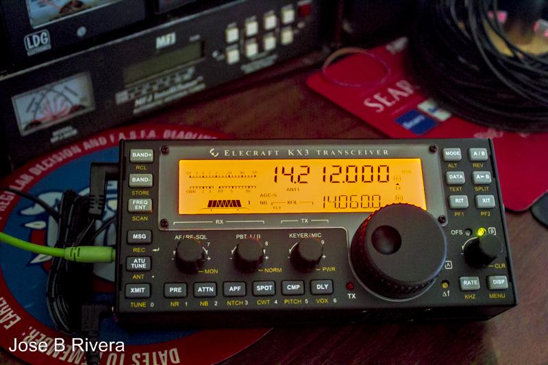 My KX3 radio